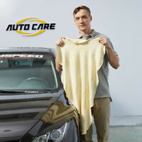 Natural Chamois Leather Car Cleaning Cloth Washing Absorbent Drying Shammy Towel