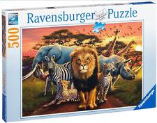 Ravensburger African Splendour 500 Piece Puzzle No. 141777 49 x 36cm