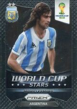 Panini Prizm World Cup 2014 World Cup Stars #43 Mario Kempes
