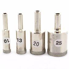 4Pcs 10 13 20 25 mm Super-Thin Diamond Tip Drill Bit for Glass Jewelry Gemstone