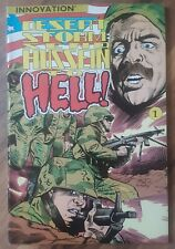 Desert Storm: Send Hussein To Hell! (1991) #1 Innovation Comics