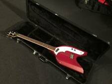 Used Eko Rokes Bass Red Short Scale Nice&Clean W/Ohsc Free Shipping