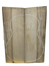 Classical Sugar Maple Guitar Back/OM, Top Set Luthier Tonewood #32
