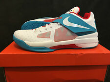 "NIKE ZOOM KD 4 - ""N7"" - SIZE 11 - 519567-046 - KEVIN DURANT - WHITE - LIMITED QS"
