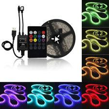 1m 30-LED 5050 SMD RGB Leiste Streifen Band Lichtband Fernbedienung Netzteil
