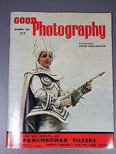R&L Vintage Mag: Good Photography October 1962 Fed 2 Camera/Paris/Portraits