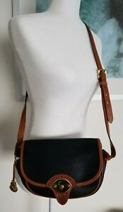 Dooney & Bourke Handbag Purse Adjustable Strap Black 10x7 inches