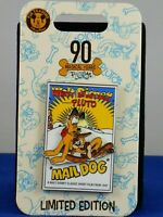 Disney Parks PLUTO 90TH Anniversary MAIL DOG Poster LE 3000 Trading Pin