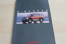 122891) Toyota 4-Runner Prospekt 02/1992