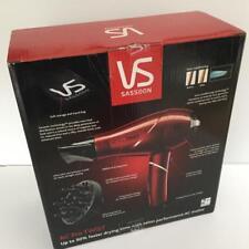 VS SASSOON VSD270A NEW PRO TWIST HAIR DRYER DRYS 50% FASTER
