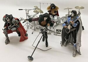 McFarlane Toys KISS Creatures Stage Figures Box Set (Incomplete) (HE2033567)