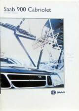 1995 SAAB 900  CABRIOLET  A ISOLA 2000 ET MONACO CATALOGUE
