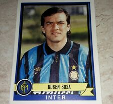 FIGURINA CALCIATORI PANINI 1992/93 INTER SOSA ALBUM 1993
