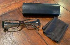 Authentic PRADA VPR16H 766-1O1 Tortoise/Beige Eyeglasses Eyeglass Frames w/ Case