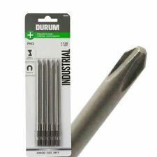 Durum PHILLIPS POWER SCREWDRIVER BITS PH2x135mm 5Pcs Suits Makita Screw Gun