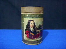 WILLEM II FAVOURITE Cylindrical Advertising Wooden Cigar Box CIGARS DE LUXE