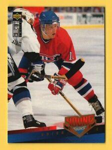 1995-96 Collector's Choice #397 Saku Koivu YG Young Guns RC Rookie - Montreal
