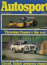 Autosport April 14th 1977 *Alfasud Ti & Thruxton F2*