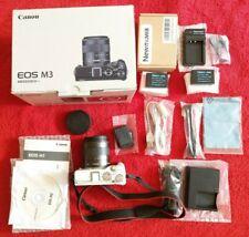 Fotocamera Mirrorless Canon EOS M3 + EOS M 18-55 + 2 batterie e caricab. + mini