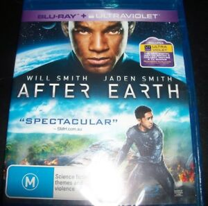 After Earth (Will Smith Jaden Smith) (Australia Region B) Bluray – New