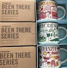 LOT Of 3: Miami+ Florida + Orlando 14 Oz. Been There Series Starbucks Mugs