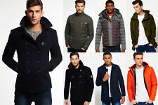 New Mens Superdry Jackets Selection 3 - Various Styles & Colours 0711