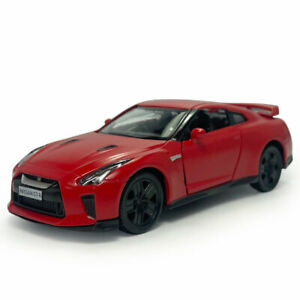 1:36 Nissan GTR R35 Model Car Alloy Diecast Toy Vehicle Kids Gift Red Pull Back