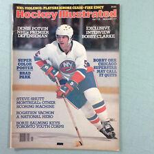 Hockey Illustrated Magazine January 1977 Denis Potvin New York Islanders NHL