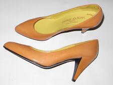 5.24) Charles Jourdan Pumps heels Gr.US 9 B (ca.EU39,5) vintage Ganzleder France