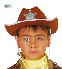 GUIRCA Cappello cowboy sceriffo western carnevale halloween bambino mod. 13559