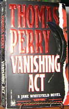 VANISHING ACT by THOMAS PERRY 1996 1st