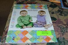 Filatura Di Crosa  Modern Baby Knitting Book Short Row Entrelac Miter Log Cabin