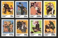 Zaire #1005-12 Mnh Rockwell Saturday Evening Post