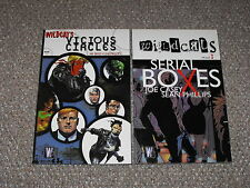Wildcats Vol. 2: Vicious Circles & Vol. 3 Serial Boxes TPB Graphic Novel Lot