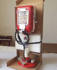 GAS FUEL AIR PUMP COIN MONEY PIGGY BANK tin toy tinplate blechmodell handmade