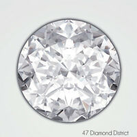 1.53ct. H-VS2 V.Good Cut Round Brilliant AGI Certified Diamond 7.48x7.57x4.49mm