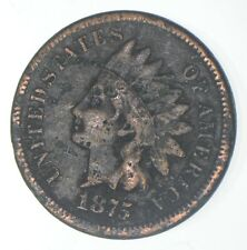 1875 Indian Head Cent - Charles Coin Collection *050