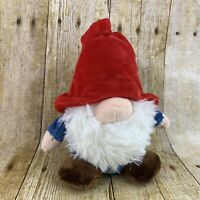 The Gnomlins Tinklink Gnome Plush 7.5 Inch Red Blue Huggable Soft Toy Stuffed
