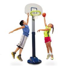 NEW - Little Tikes Adjust'n Jam Children Indoor/Outdoor Pro Basketball Set