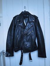 BLK DNM Jacket 5 Leather Biker Jacket new with tags Retail $995