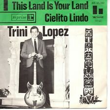 7inch TRINI LOPEZ this land is your land HOLLAND VG++/EX    (S1937)