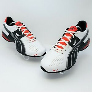 Puma Cell Surin Mens White Black Red Cross Training Shoes Size US 12 18645201