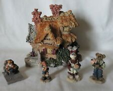 """Boyds Bears Resin """"Bailey'S Cozy Cottage"""" Bearly-Built Villages + Accessories"""