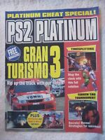 62578 PS2 Platinum Cheat Special Magazine