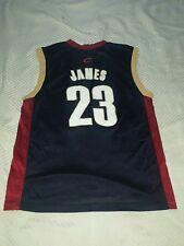 1d4bc294e Men s Lebron James Cleveland Cavaliers Replica Alternate Jersey ...