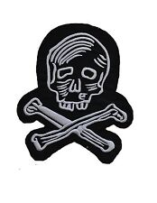 Jacket Patch Embroidered Pirate Skull Bones