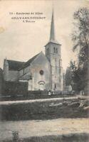 CPA   - Environs de Dijon - GILLY-LES-VOUGEOT - l'Eglise - Côte-d'Or