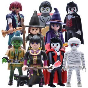 Playmobil Figurines Halloween Spukhaus US Set Exclusive Mummy Zombie