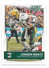 Carson Wentz Rookie Card 2016 Score #335 Philadelphia Eagles RC