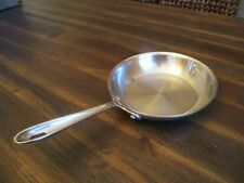 "All Clad Stainless Steel 7-5/8"" Inch Frying Pan Skillet"
